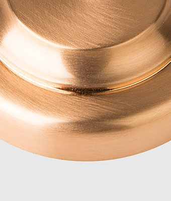 Brodware tapware finishes:  Brushed Rose Gold