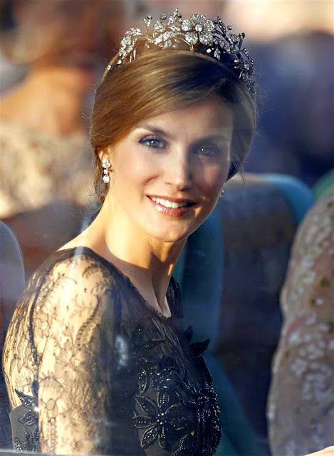 THE PRINCESS H.R.H. Letizia Ortiz y Rocasolano, Princess of Asturias