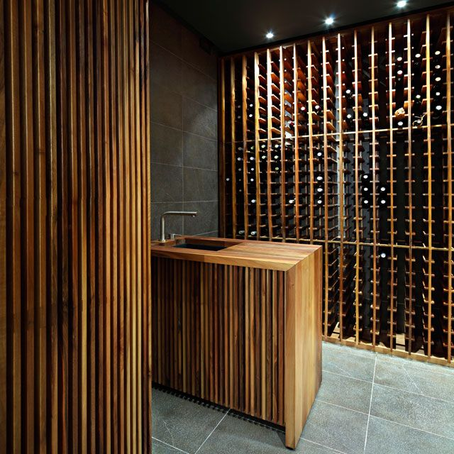 """Wine cellar in Zagreb by 2A. This could have been one of my """"Beauty in Motion"""" had a bottle been open! I'd drink to that;)"""