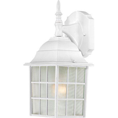 Outdoor lighting 19 pinterest nuvo lighting 604904 adams one light wall lanternarm down 100 watt a19 mozeypictures Gallery