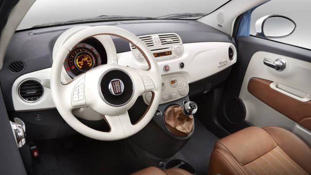 "2014 Fiat 500 ""1957 Edition"" interior - Photos - Road & Track"