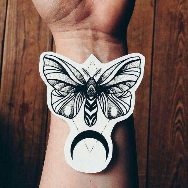 Pin By Jillian Rose On Tattoos Wrist Tattoos Inspirational Tattoos Moth Tattoo
