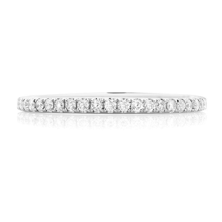 The Michael Hill Designer Bridal Collection | 1/3 Carat TW Diamond Arpeggio Wedding Band