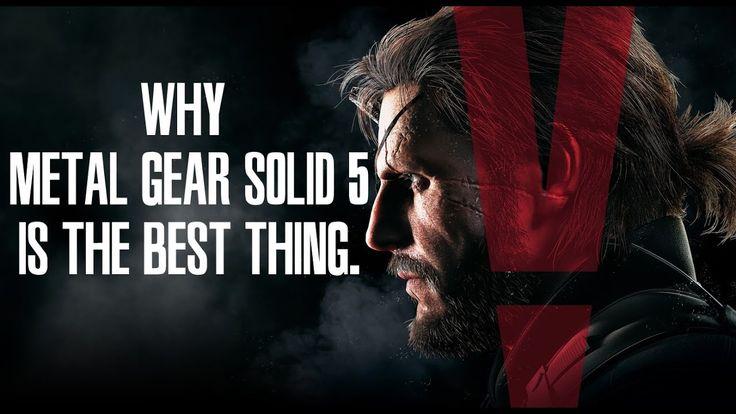 Why Metal Gear Solid 5 is the Best Thing. #MetalGearSolid #mgs #MGSV #MetalGear #Konami #cosplay #PS4 #game #MGSVTPP