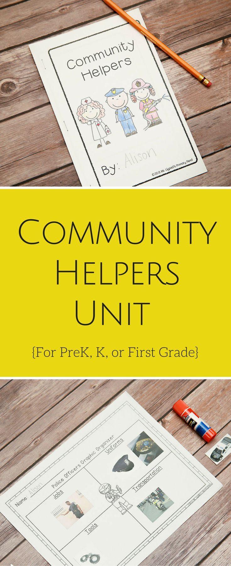 16 best images about Kindergarten (Community Helpers) on ...