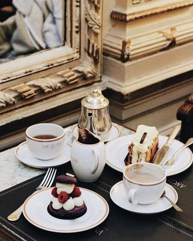 All things bright and beautiful.... — miumiuceline:   Brunch time at @angelina_paris ...