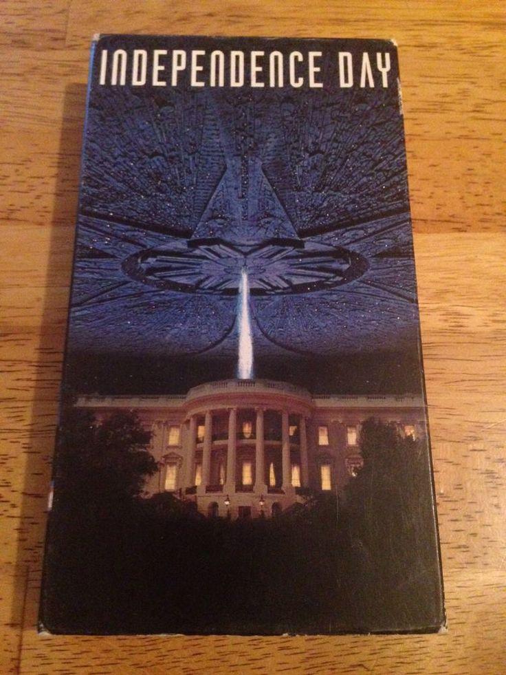 Independence Day VHS Will Smith Bill Pullman Jeff Goldblum