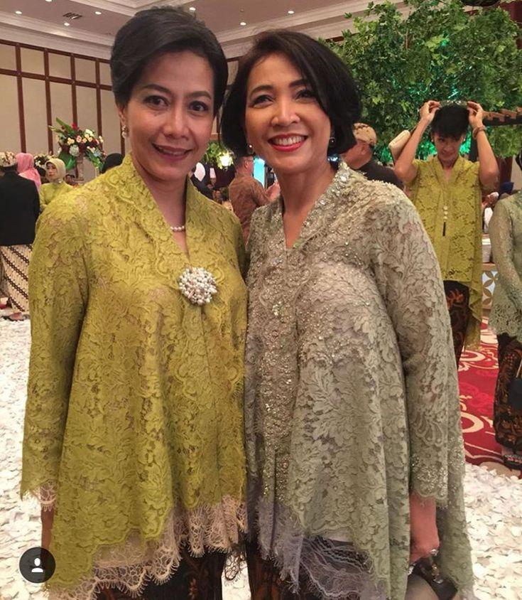 Kebaya Kartini longgar brokat