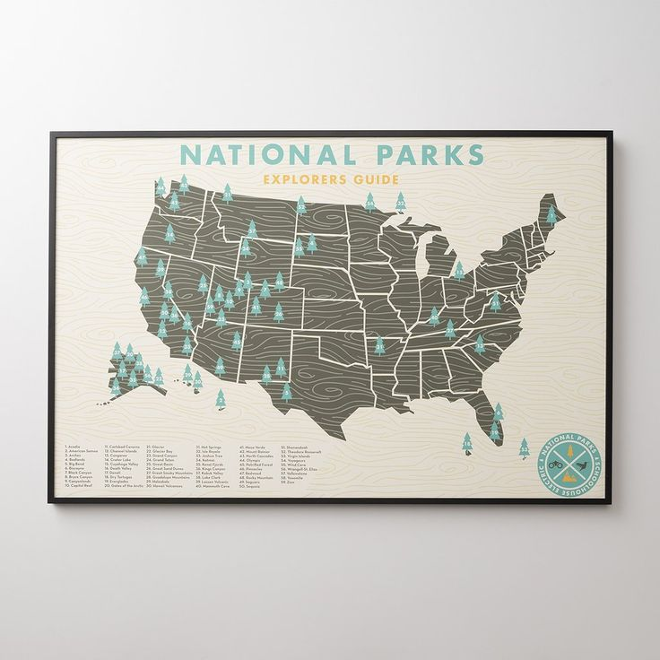 National Parks Print 166 best home ideas