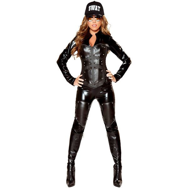 womens bullet proof swat babe deluxe sexy costume 150 liked on polyvore featuring - Halloween Bullet Proof Vest