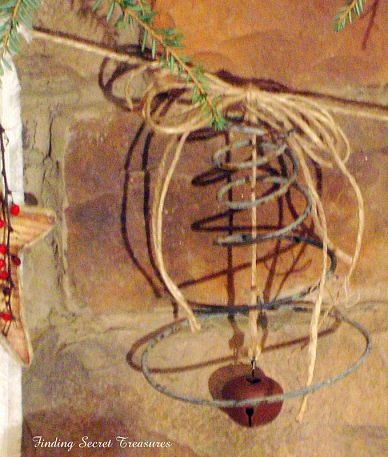 Cool use of mattress springs I found at Kahola of all places.