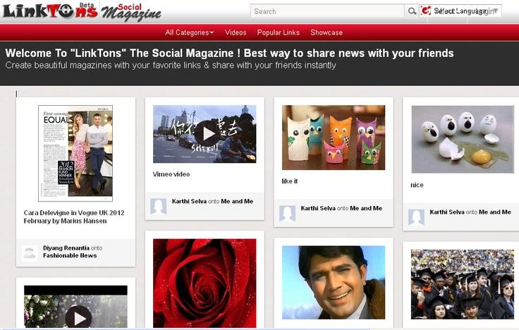 Linktons.com - Pinterest like social magazine site http://technorable.com/pinterest-ing-like-niche-websites.html