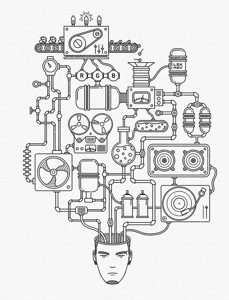 CREATIVE PROCESS by LEX NAU.