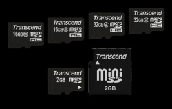Transcend high performance secure digital hc class 10 flash memory - 4gb.