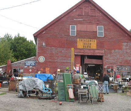 They Have It All Trash Barn Searsport Me Junkmarket