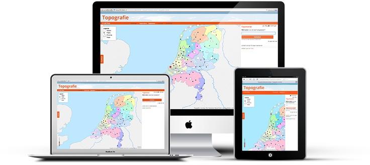 Topografie in de Klas http://www.aardrijkskundehulp.nl/blog/2013/06/10/topografie-in-de-klas/