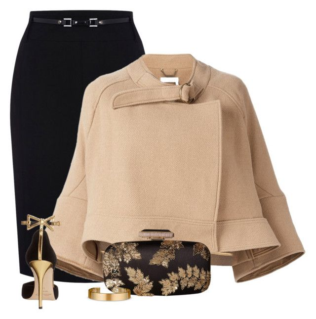 Untitled #764 by missyalexandra on Polyvore featuring Chloé, Oasis, Oscar de la Renta and Le Gramme