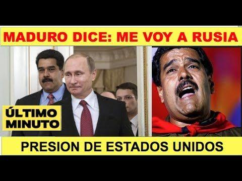 Maduro pide asilo a Rusia por fracaso de Constituyente - YouTube