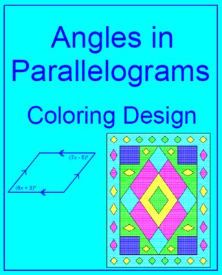 Angles in Parallelograms from MarieDompierre