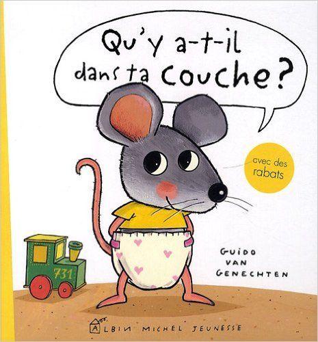 Amazon.fr - Qu'y a-t-il dans ta couche ? - Guido Van Genechten - Livres