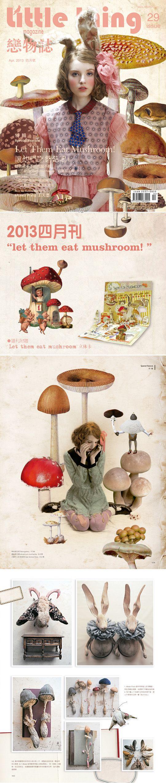 Little Thing #29 * Let them eat mushroom *