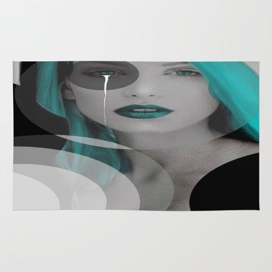 Blue+Angel+Rug+by+Müge+Başak+-+$28.00