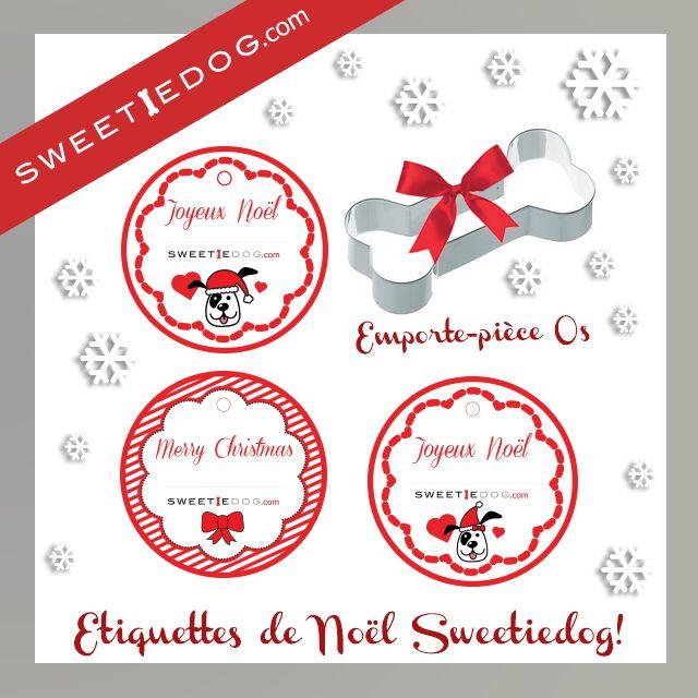 Étiquettes Noël cadeaux et gâteaux - Sweetie Dog - free printable - téléchargement gratuit - Goodies - www.sweetiedog.com