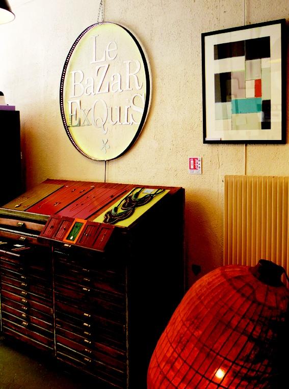 17 best images about atelier boutique le bazar exquis for Boutique de decoration paris