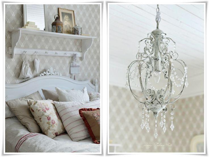 de 25 b sta id erna om shabby chic sovrum bara p pinterest shabby chic inredning vintage. Black Bedroom Furniture Sets. Home Design Ideas