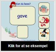 SMART Exchange – Danmark Kan du læse? [SMART Notebook-lektion] Læs ordet, find det rigtige billede og træk det hen under ordet. Fag: Dansk Klassetrin: grade 0,  grade 1,  Specialundervisning, inklusion.
