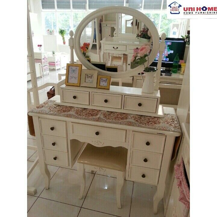 Feel beautiful everyday with a dresser like this! Available at #unihomefurniture  Code: DS 111 IV