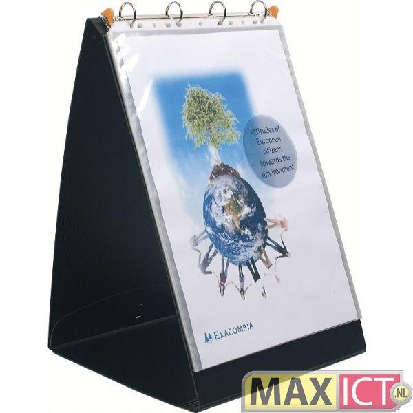 MaxOffice.nl — Exacompta Presentatiemap Exashow voor formaat A3 verticaal (ft 49 x 32 cm) 56134E — presenters