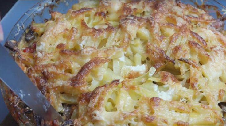 Cartofi cu ciuperci la cuptor - o rețetă mereu gustoasă! Incredibil cât de ușor se prepară! - Bucatarul.tv
