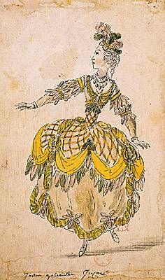 Nicolas Boquet, costume pour les Indes galantes Costume imaginé par Nicolas Boquet pour l opéra-ballet de Jean-Philippe Rameau  I les Indes galantes /I  (1735). [Bibliothèque-musée de l Opéra, Paris.]