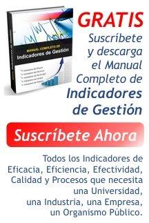 Indicadores de Gestion para tablero de comando - balanced scorecard - cuadro de mando integral