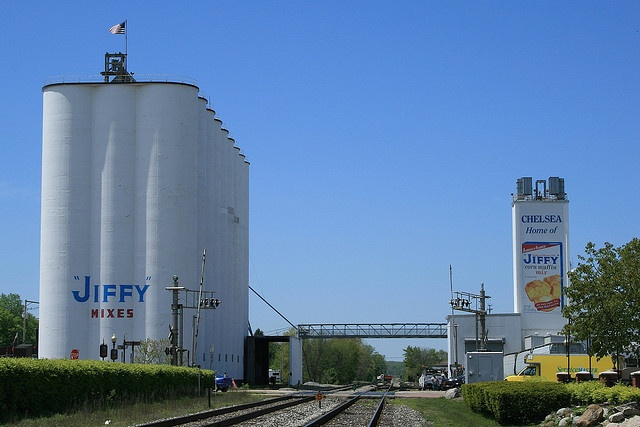 Jiffy Mix Plant  Chelsea Michigan. Only Jiffy Mix in the world :)