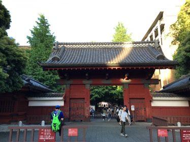 東京大学に行って来ました