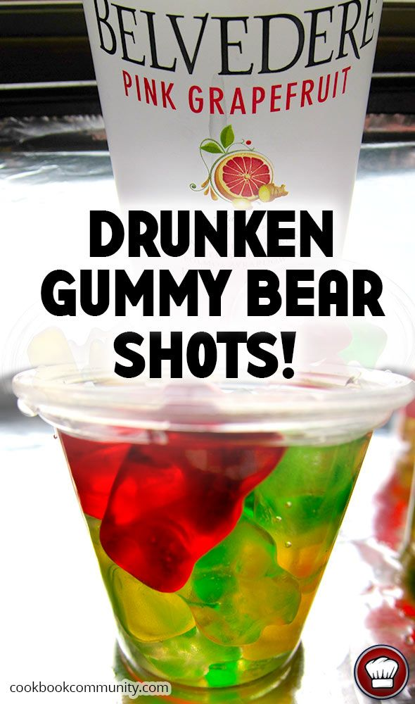 VODKA GUMMY BEARS!! So chill, so delicious! See Instructions and Step by Step Photos inside!