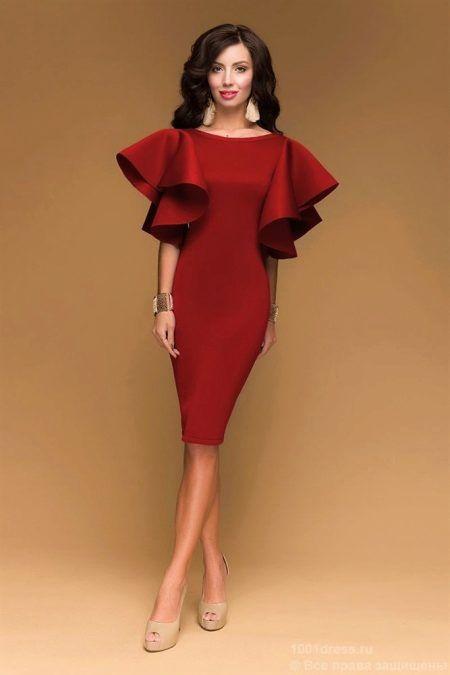 Рассказ о вечерних платьях