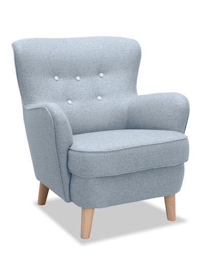 Redefineste confortul in interiorul caminului tau cu ajutorul fotoliului Eden Silver! #SomProduct #comfort #blue #silver #happy #living #soft #design #velvet