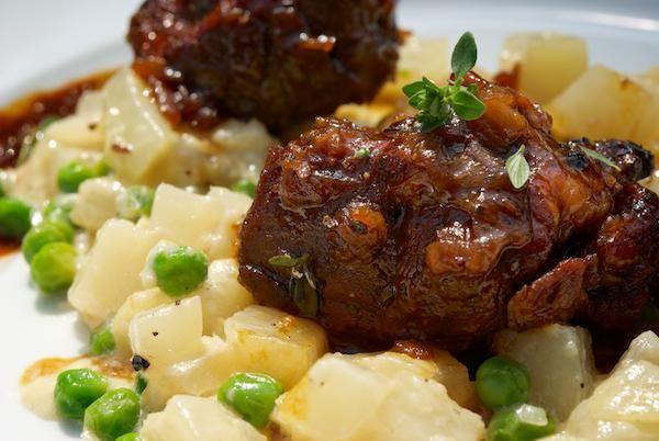 Recept: Pečené mäso s kalerábom | Nebíčko v papuľke