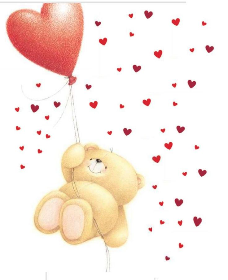 .ʕ •́؈•̀ ₎♥                                                     Forever Friends Hearts