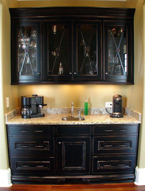 10 best images about wet bar idea 39 s on pinterest wet bar for Basement kitchen cabinets