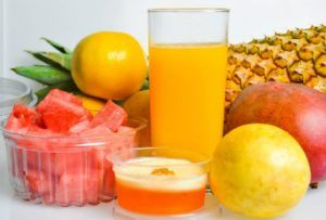 Recipe for an effective fat-burning juice