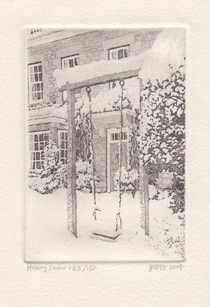 Heavy Snow by Joseph Winkelman