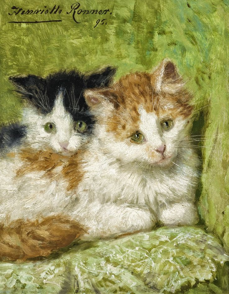 Henriëtte Ronner-Knip   The painter of cats life and cats character   Tutt'Art@   Pittura * Scultura * Poesia * Musica  