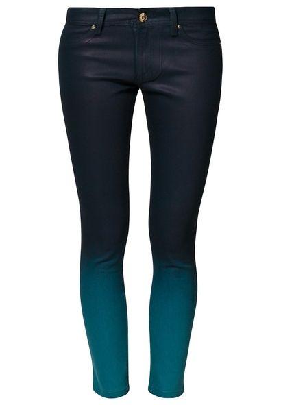 EMMA - Jeansy Slim fit - niebieski - ombre blue