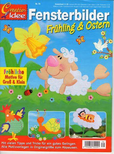 Creativ Idee Fensterbilder Fruhling & Ostern - jana rakovska - Àlbums web de Picasa