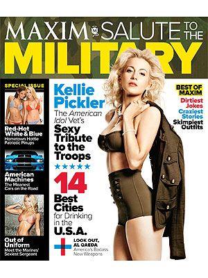 Kellie Pickler For Maxim:August 2012!Kellie Pickler, Maximum Magazines, Go Girls, Photos Gallery, Pickler Salutation, Kelly Pickler, Country Music, Military Photos, Magazines Covers