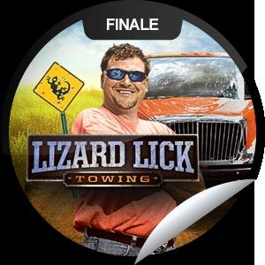 Lizard lick towing tv show